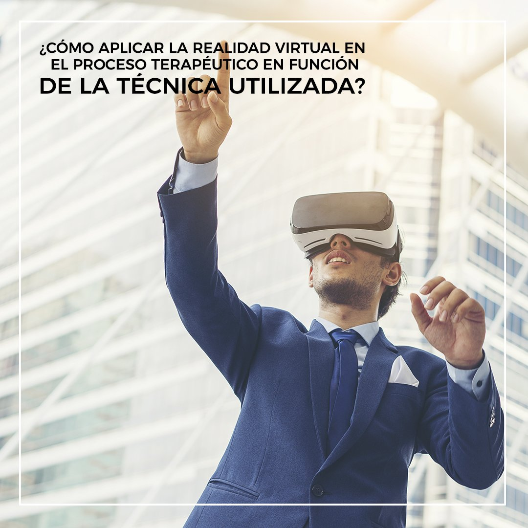 aplicar realidad virtual en función de la técnica utilizada