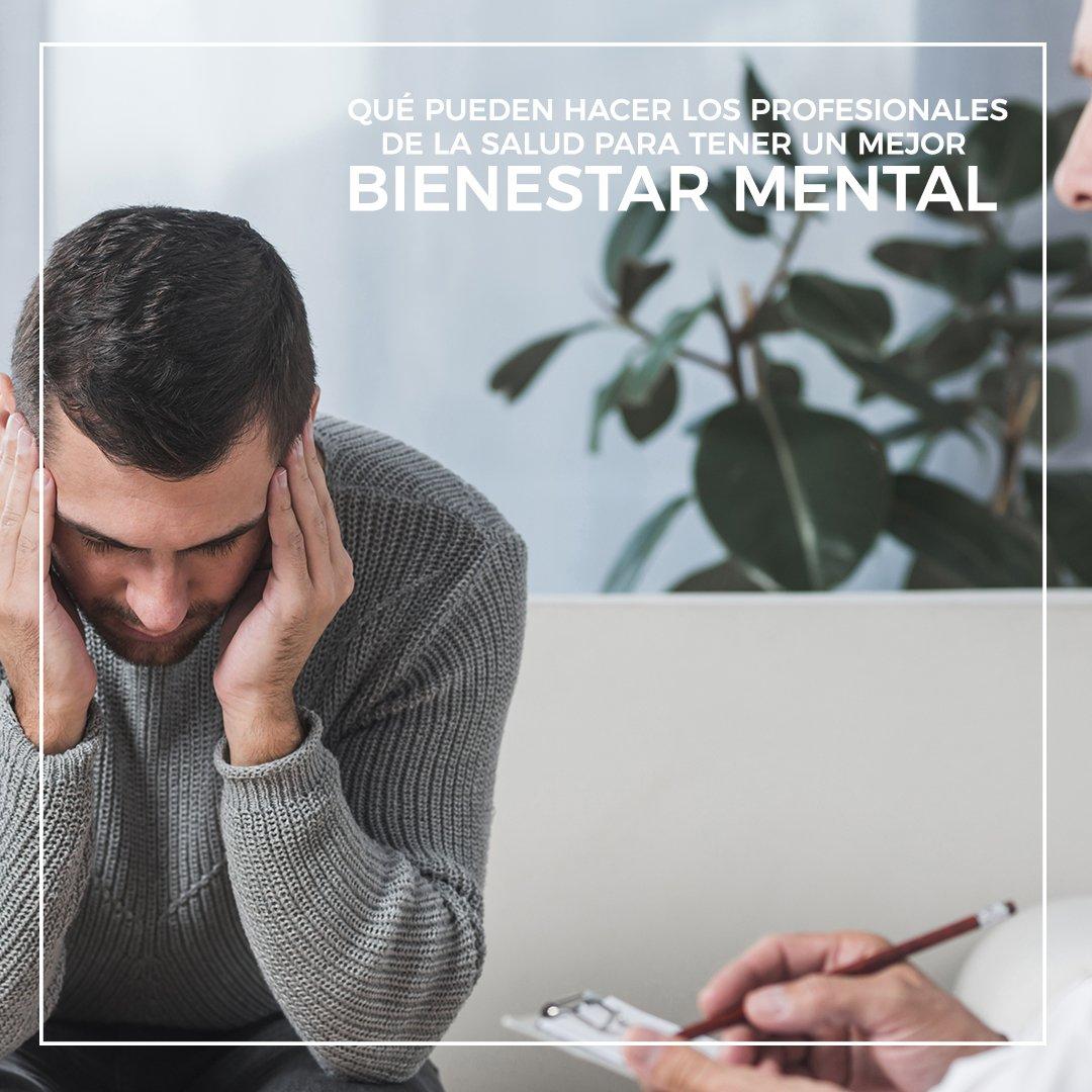 bienestar mental profesionales salud