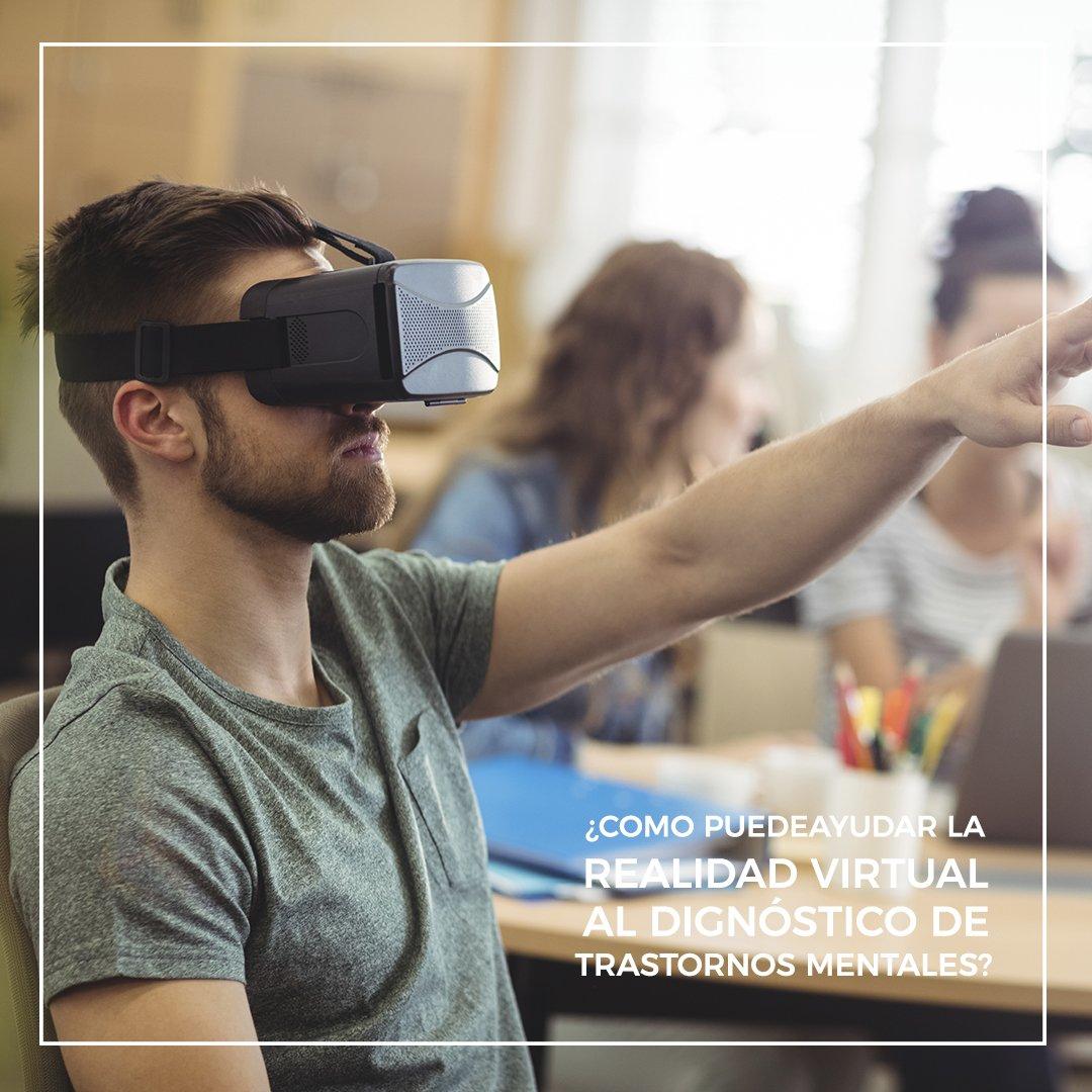 realidad virtual diagnostico trastornos mentales