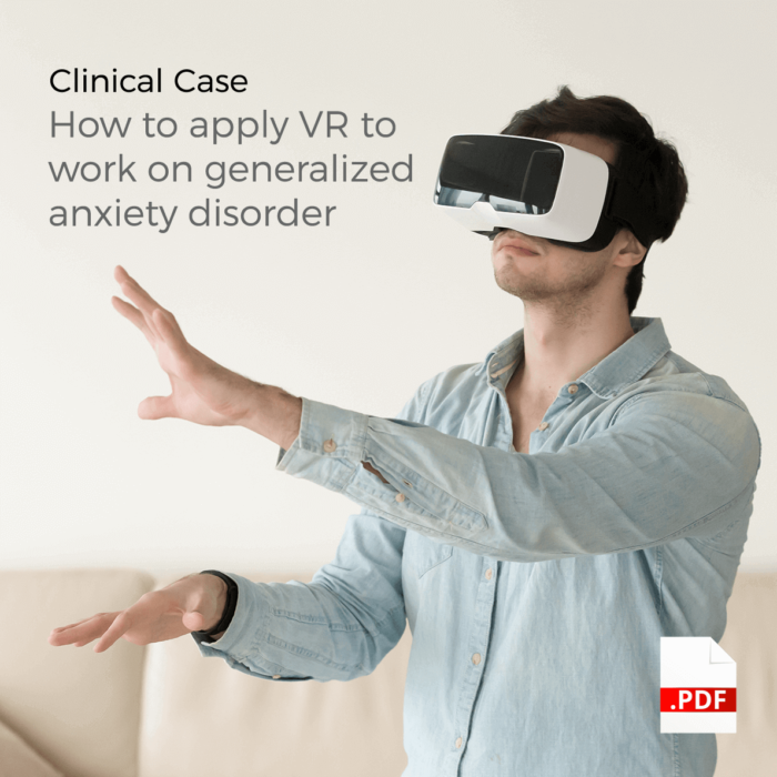 Work on Anxiety and Stress with VR