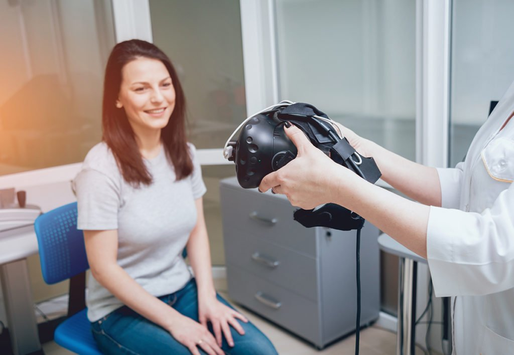 VR traditional therapeutic