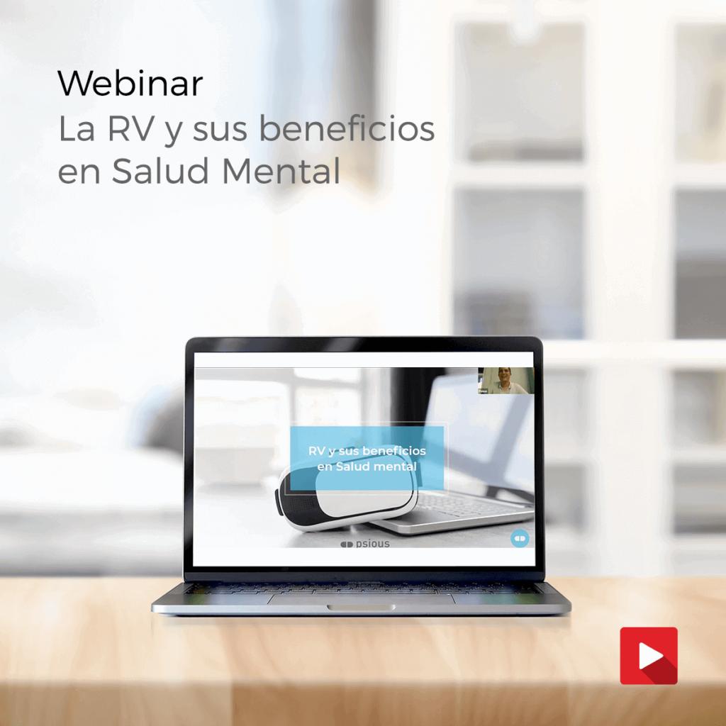 seminario online gratuito sobre realidad virtual en salud mental, donde un psicólogo experto explicará todo sobre la RV y sus beneficios para terapias