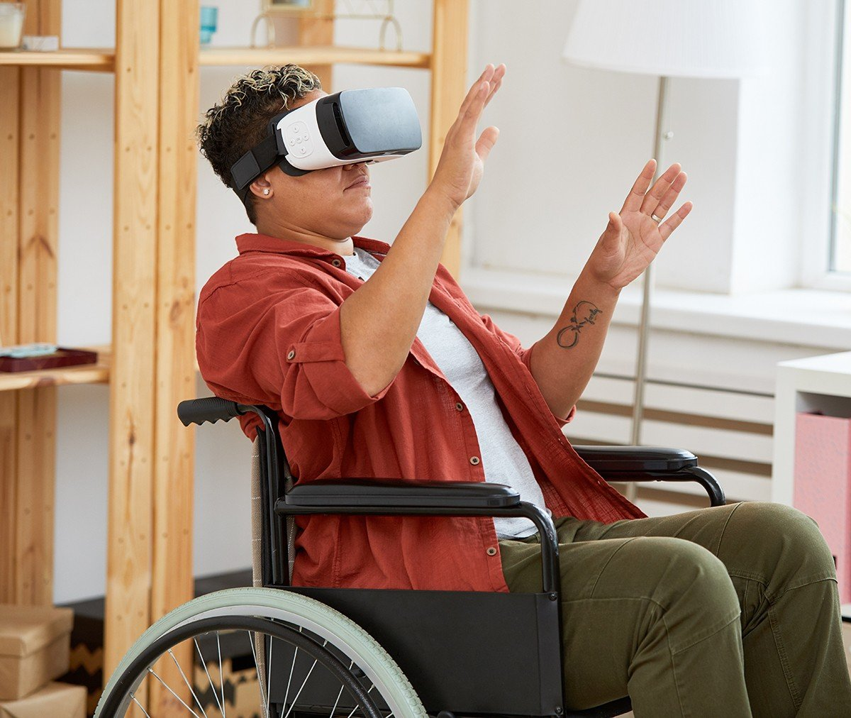 VR Less pain, more to gain